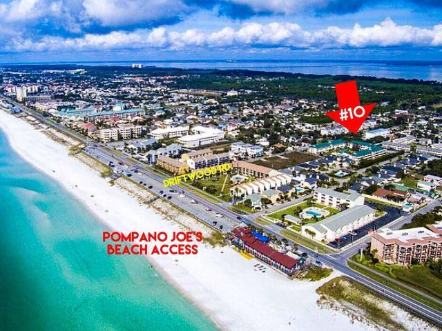 257 DRIFTWOOD ROAD UNIT 10 MIRAMAR BEACH FL